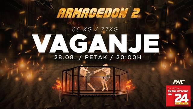 Spektakl Armagedon 2 samo na YouTube kanalu 24sata: Borci odradili vaganje, spremni su