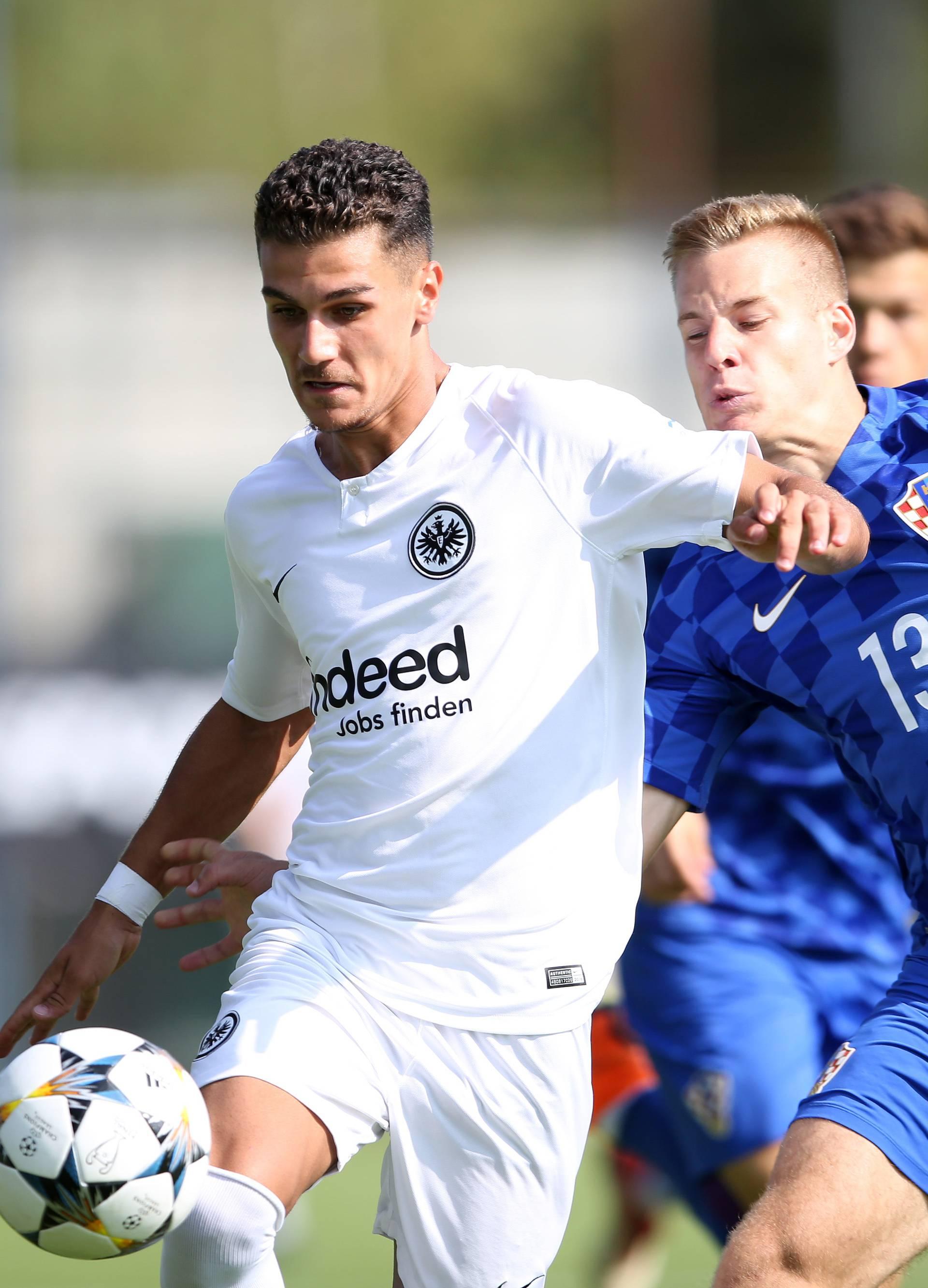 Zagreb: 16. međunarodni turnir Mladen Ramljak, Hrvatska - Eintracht Frankfurt