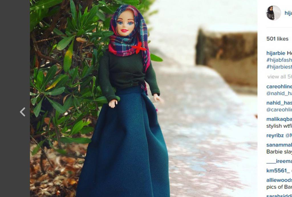 Hijarbie/Instagram