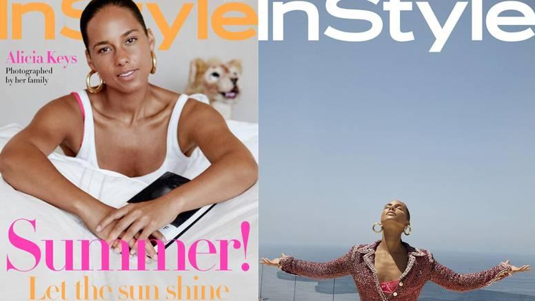 Aliciju Keys za naslovnicu modnog magazina snimio je njezin 5-godišnji sin Genesis