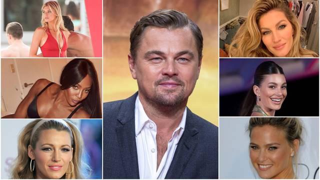 DiCaprio sa svakom djevojkom prekinuo nakon što bi napunila 25 godina, a ima i svoj tip cura