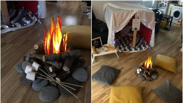 Od boravka je napravila oazu za kampiranje i oduševila djecu