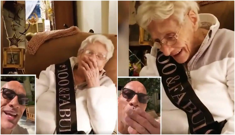 Glumac čestitao 100. rođendan obožavateljici i sve raznježio...