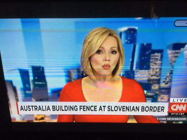 CNN: Australija gradi ogradu na svojoj granici sa Slovenijom