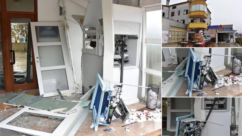 Eksplozija uzdrmala Žminj:  Pokušao je razvaliti bankomat