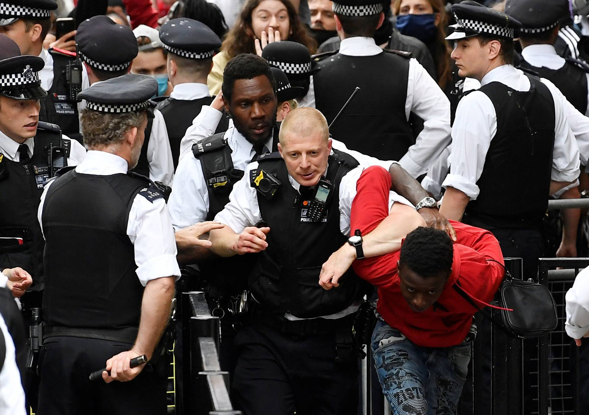 London: 'Nema pravde, nema mira, bez rasističke policije'