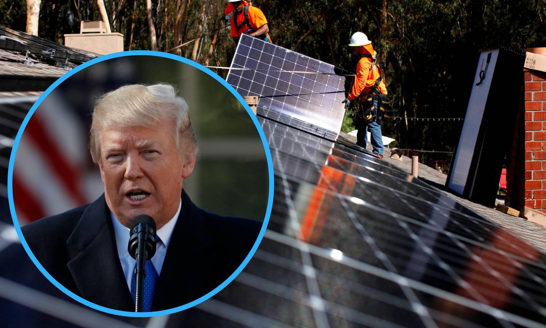 Trumpov novi udarac: Uveo je visoke carine na solarne ploče