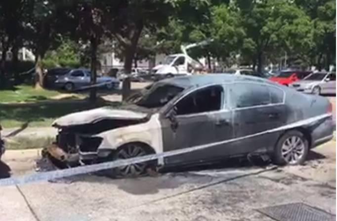Passat u Gorici zapalili: Gorili kontejneri i auti na Trešnjevci