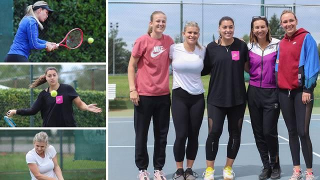 Donna, Ana, Jana... Majoli na treningu 'postrojila' Hrvatice
