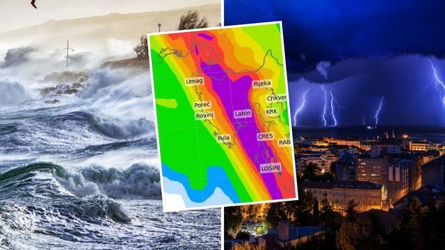 Ako još niste počeli raditi arku, stignete: U nedjelju čak 9 sati potopa i valovi od šest metara