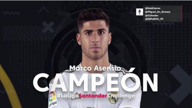 Kad nema pravih, i virtualne su dobre: Asensio osvojio Primeru