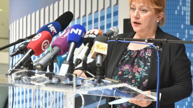 Zagreb: Redovita konferencija za medije Gradskog stožera civilne zaštite