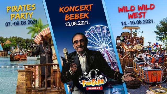Vrhunac sezone donosi vrhunac zabave u Fun Parku Biograd!