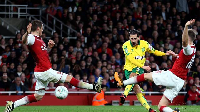 Arsenal v Norwich City - Carabao Cup - Forth Round - Emirates Stadium