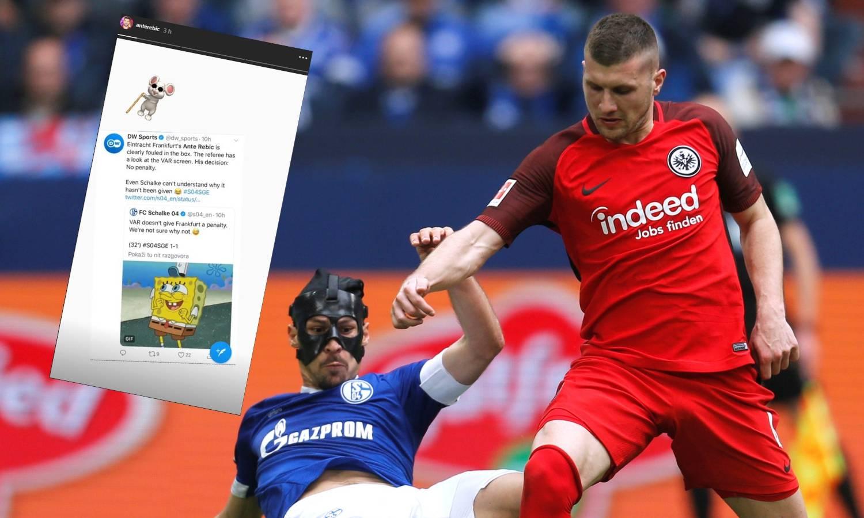 I Schalke zbunjen odlukom na Rebićevu štetu: Gdje je penal?!