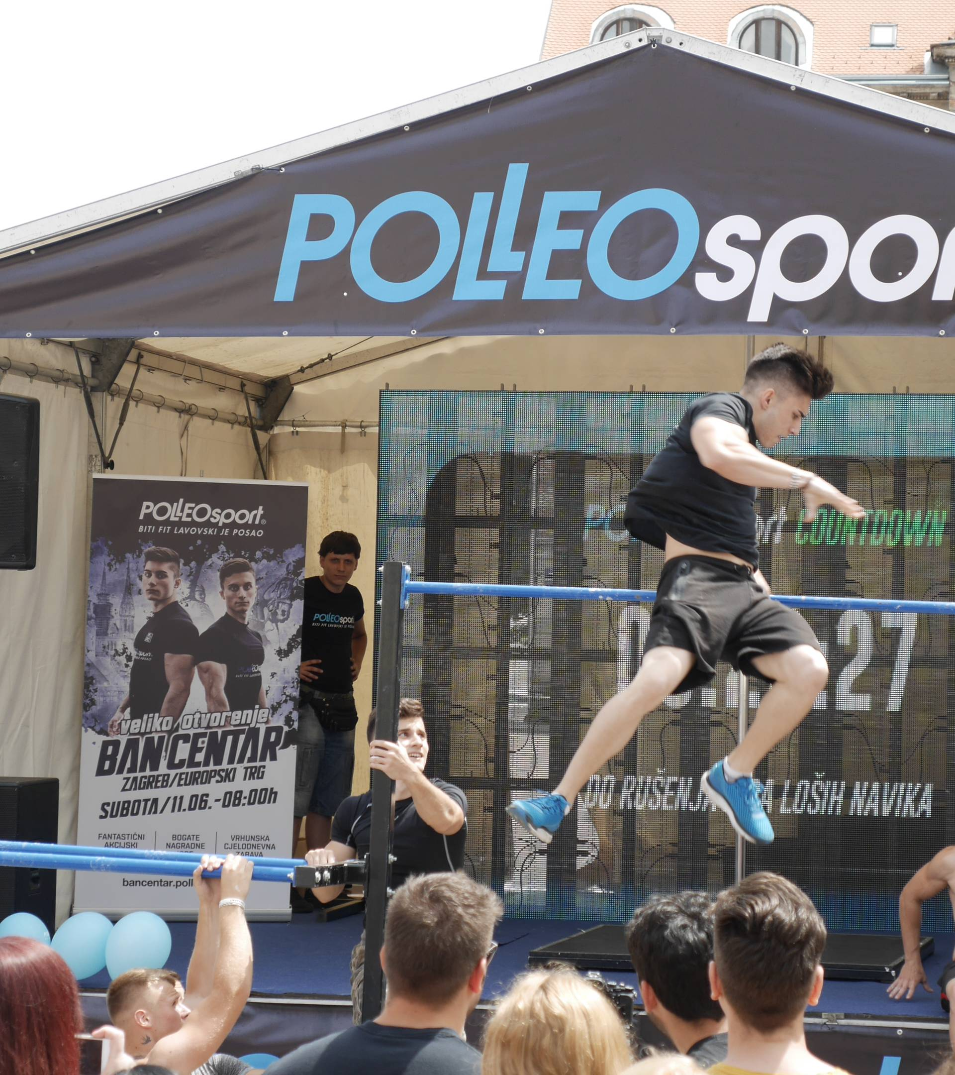 Lav is in the air! Padobranac otvorio novi Polleo Sport