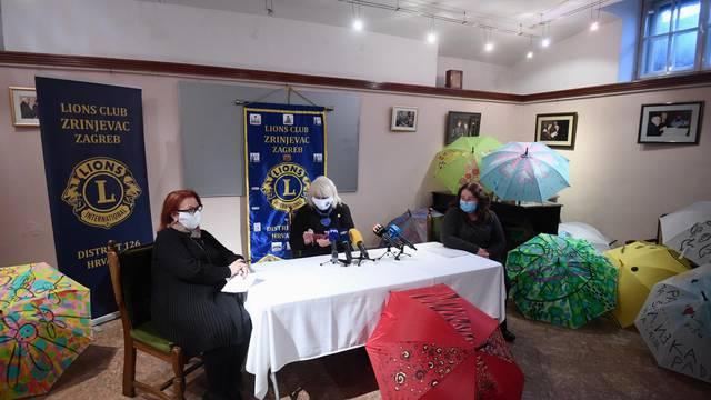Zagreb: Lions Klub Zirnjevac predstavlja humanitarnu akciju Lions kišobrani zajedništva
