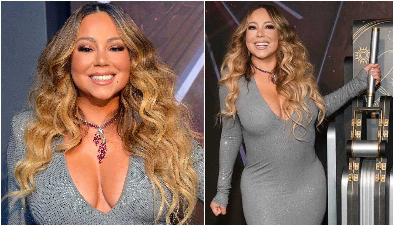 Mariah imala premali steznik: Izbacila dekolte, a jedva diše...