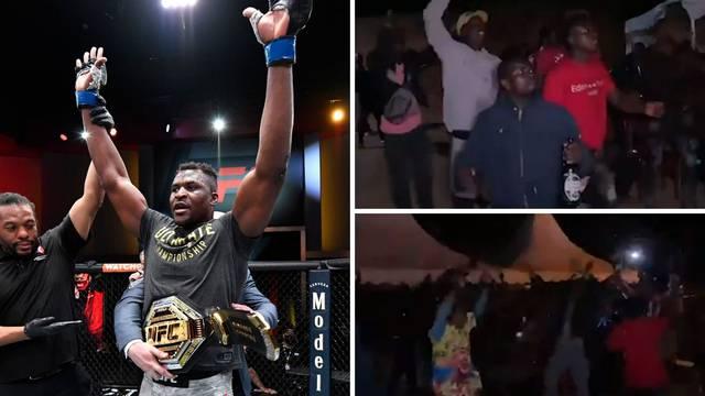 Pogledajte ludnicu u rodnom gradu novog UFC-ovog prvaka