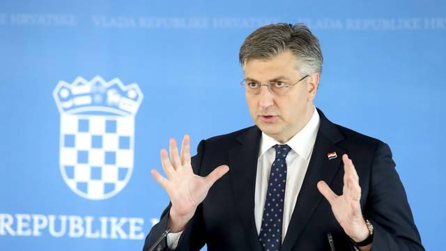 """Plenković o komentarima predsjednika: """"To je političko divljaštvo, neprihvatljivo..."""""""