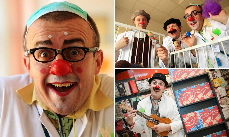 Crveni nosovi: Ja sam Doktor Ludek i smijehom liječim  bol