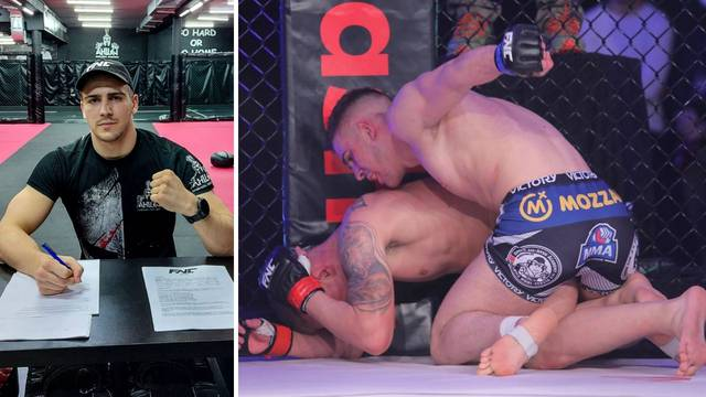 Najveća regionalna MMA nada potpisala ugovor s hrvatskom organizacijom: Bojković u FNC-u