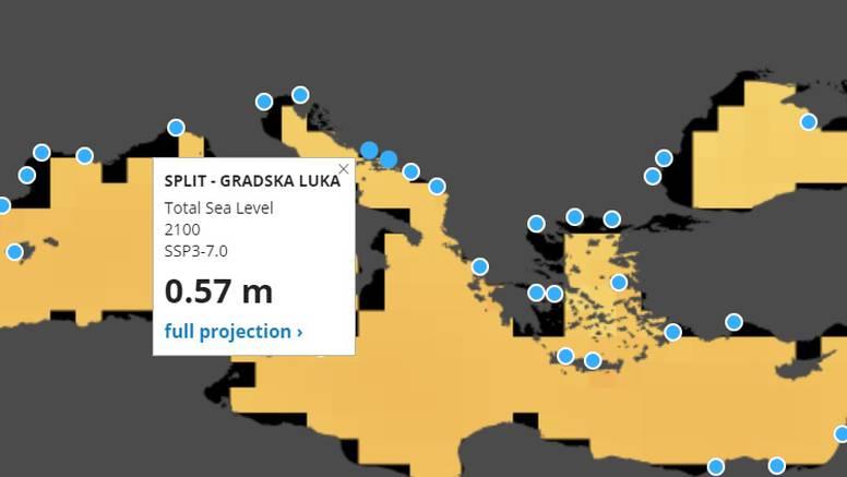 NASA izradila novu kartu koja pokazuje kako će rasti razina mora i u mjestu gdje vi živite