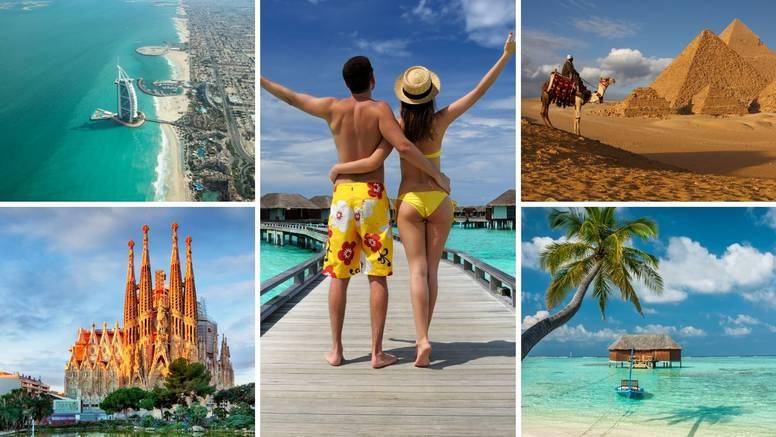 Hrvati bukiraju putovanja, a sve više ih ide na Maldive i u Egipat