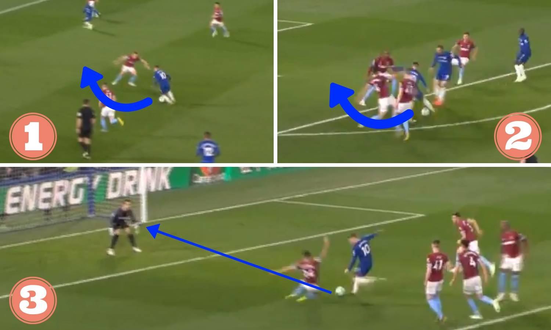 Pogledajte kako Hazard prolazi šestoricu i zabija magični gol