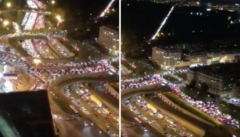 Francuska ide u lockdown, a na tisuće ljudi bježi iz Pariza: Stvorile se kolone od 700 km