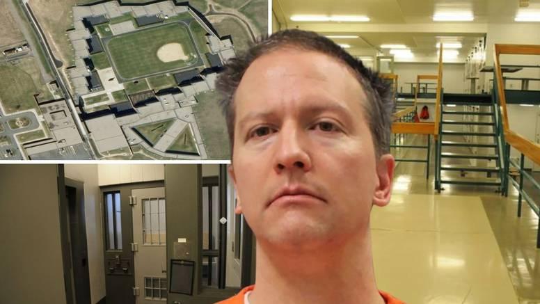 Ovo je zatvor u kojem je bivši policajac ubojica Chauvin. Drže ga u samici 23 sata dnevno
