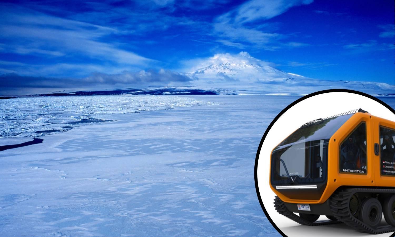Princ predstavio 100 posto ekološko vozilo za Antarktiku
