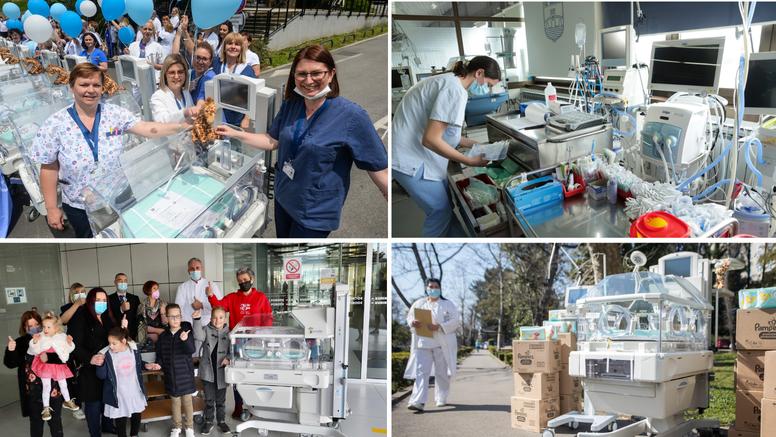 Palčići i dalje na valu dobrote: Rodilištu u  Općoj bolnici Nova Gradiška donirana tri uređaja