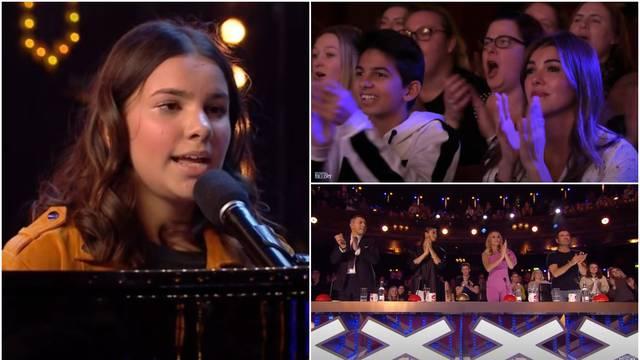 Slijepa djevojčica očarala je žiri i publiku: Mnogi su i zaplakali...