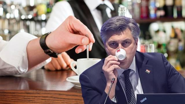 Od jutros se kave mogu piti u zatvorenom: Obavezne maske, razmak, stolovi bez grickalica...