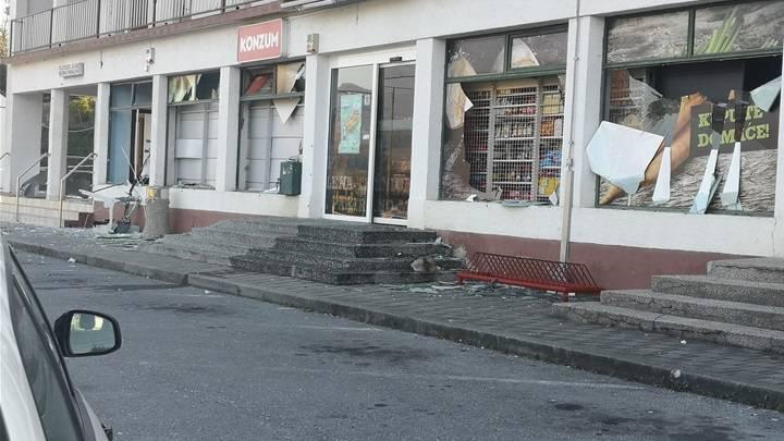 Raznijeli bankomat: 'Stakla su pucala, kuće su nam se tresle'