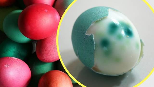 Oprez, naše boje za jaja opasne su i za kožu i za dišne puteve