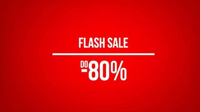Flash sale na Sport Vision webshopu: Do 80% popusta
