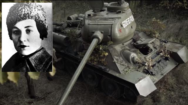 Kad su joj nacisti ubili muža,  sjela u tenk i krenula u borbu...