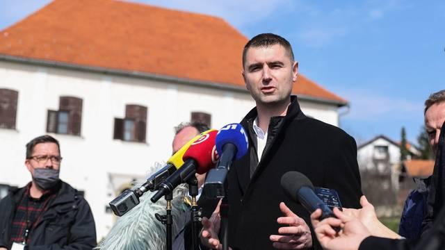 Kandidat HDZ-a za zagrebačkog gradonačelnika Filipović obratio se medijima