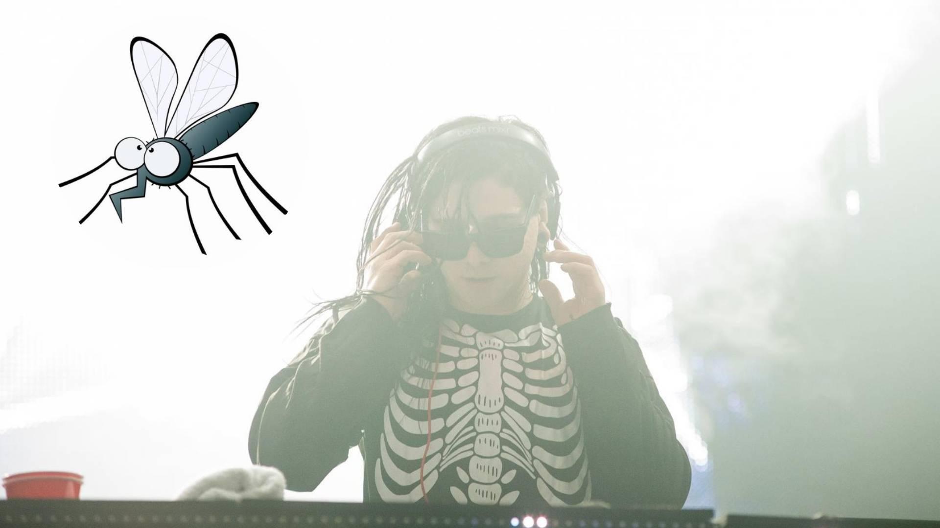 Znanstvenici: Komarci manje piju krv dok slušaju Skrillexa