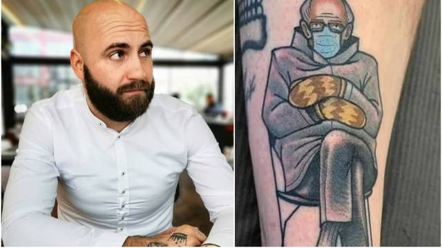 Pobjednik 'Farme' tetovirao je Bernieja na ruku: Nisam odolio