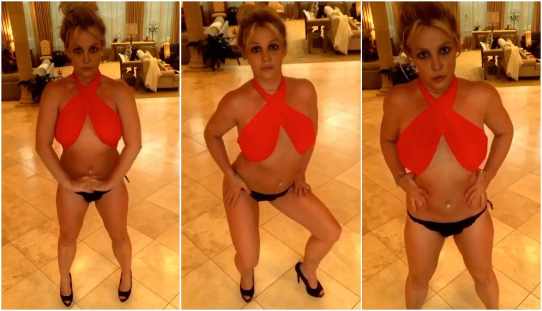 Golišava Britney šokira plesom: 'Ma drogira se, neugodno mi je'