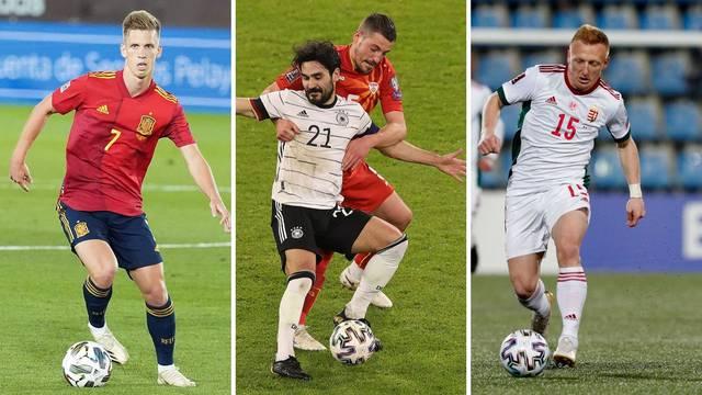 Tu su i dvanaestorica iz HNL-a: Pogledajte konačne popise svih reprezentacija za Euro 2021.