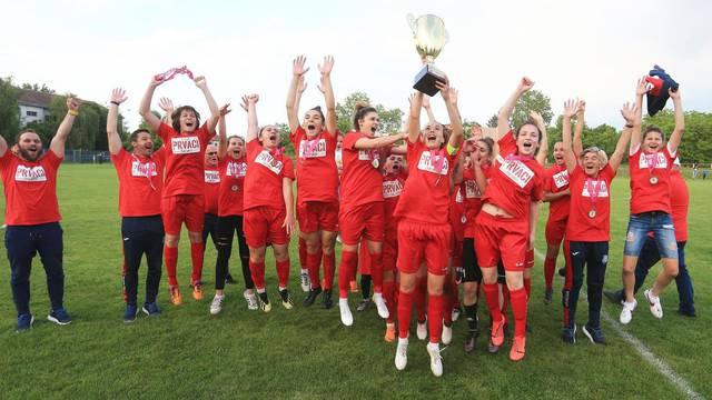 Osijek: Nogometašice Splita svladale Osijek nakon 12 sezona i postale prvakinje