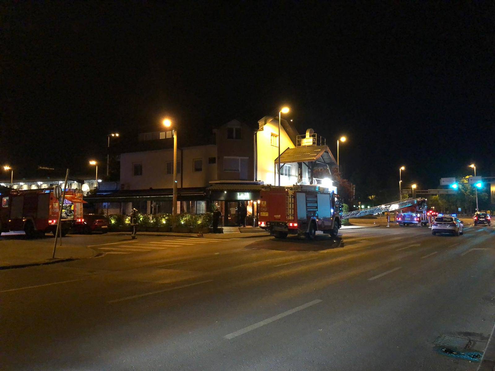 Vatrena noć u Zagrebu: Četiri intervencije u sat vremena