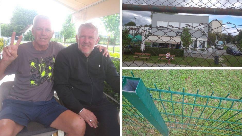 Ekipa iz Sigeta skupila sredstva za obnovu derutnog igrališta, pomogli Tomas, Simon, Žuti...