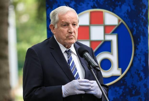 Zagreb: Svečano otkrivena ploča na mjestu osnutka GNK Dinamo