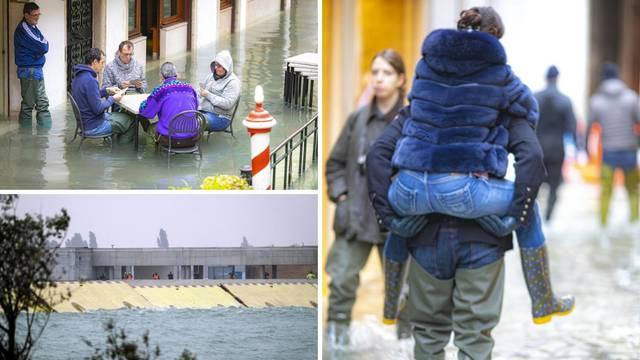 Venecija opet pliva, brane koje su gradili i u Splitu su fijasko...