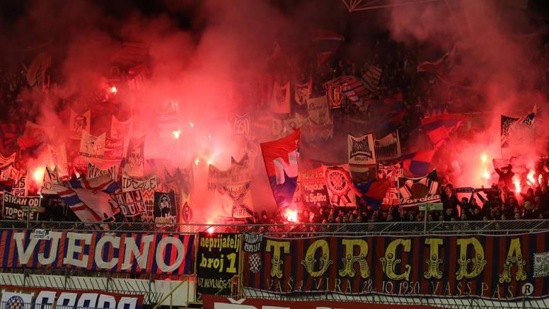 Torcida vikala 'Bjelica, Srbine, čakija ti ne gine', HNS zatvorio sjevernu tribinu na Poljudu!